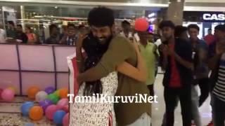 VJ Rio Raj Surprises His Fiancé Sruthi Birthday | Saravanan Meenatchi Actor Family