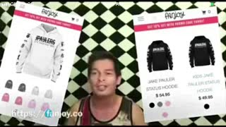 UNBOXING & REVIEW: JAKE PAUL merch from FANJOY (Status Hoodie)