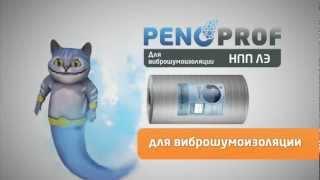 PenoProf професійна лінійка ізоляції PENOTERM