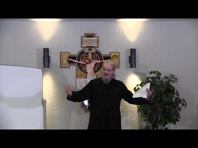Fr John Behr LPH 2019 Advent Retreat 04 Virgin Mother, Virgin Church