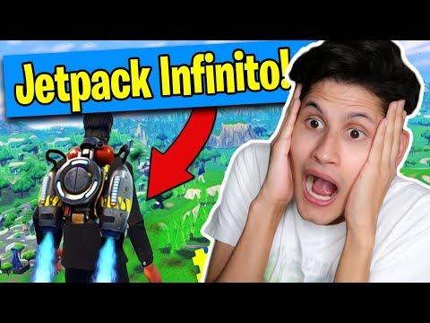 JETPACK INFINITO?! Momenti divertenti FORTNITE (Reaction Los Amigos)