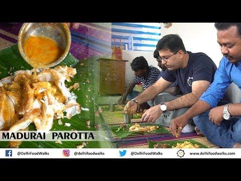 Madurai Food Tour - Madurai PAROTTA - Egg PAAYA - Fishlette (Fish Omelette)