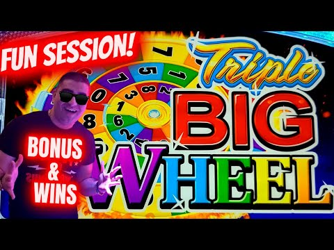 Playing Only 3 Reel Slot Machines! Bonuses & Nice Hits ! Live Slot Play At Casino In Las Vegas