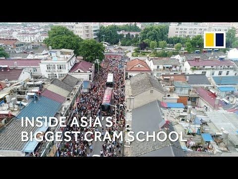 Updated: Inside Asia's biggest cram school, where Chinese students study for the gaokao