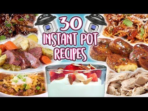 30 Instant Pot Recipes   Super Comp   Well Done