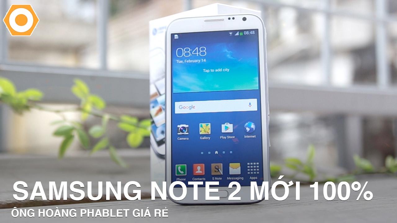 Galaxy Note 2 mới nguyên Seal – Ông hoàng Phablet giá rẻ.