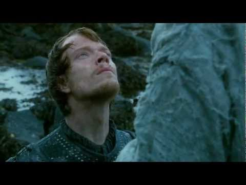 Theon's Baptism: 'What Is Dead May Never Die' [HD]