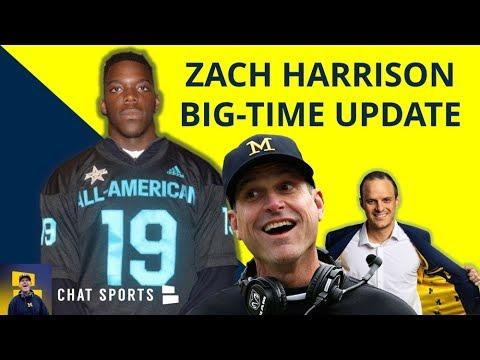 Zach Harrison And Jim Harbaugh Meeting This Week? 9 HUGE Michigan Football Rumors