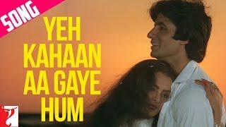 Yeh Kahaan Aa Gaye Hum Song, ये कहाँ आ गए हम, Silsila   Amitabh   Rekha   Lata Mangeshkar