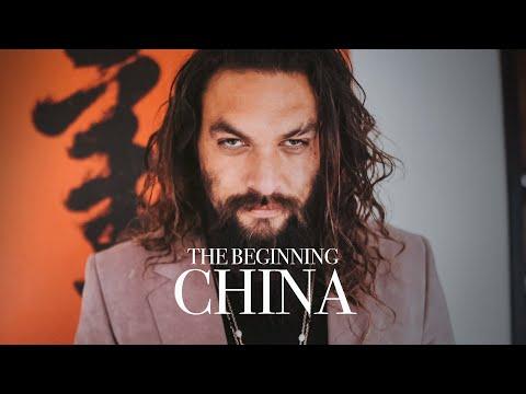 Were in China Jason Momoa Aquaman Press Tour