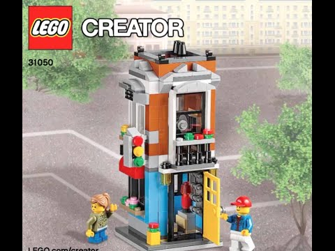 How To Build Lego Creator 31050 Instructions Youtube