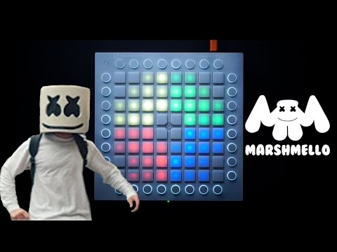 Marshmello - Moving on   Launchpad Lightshow