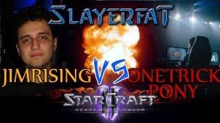Starcraft 2 Heart of the Swarm español - 2013 FXO JimRising vs OneTrickPony