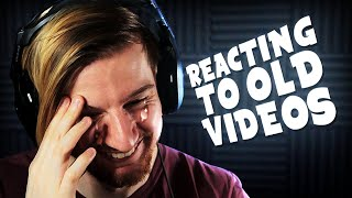 WHAT WAS I THINKING?! (Reacting to old videos)