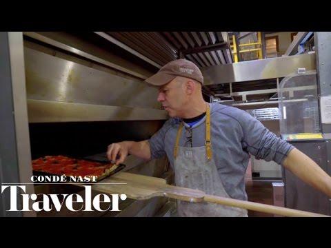 Roman Pizza Tour in New York with Katie Parla at Sullivan Street Bakery