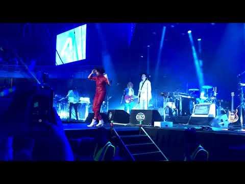 ARCADE FIRE - ELECTRIC BLUE  (11-12-2017) SANTIAGO -CHILE