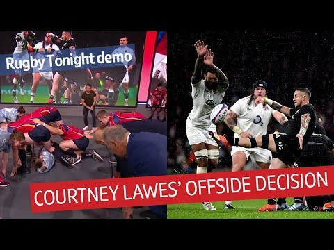 Breaking down the controversial Lawes offside ruling | Rugby Tonight demo