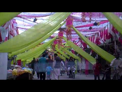 Bagwan pura bazar at 12 rabi ul awal lahore youtube for 12 rabi ul awal decoration