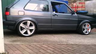 Golf 2 R32 4Motion Project Part II
