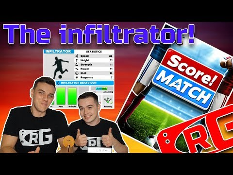 E034 - CRG, Score! Match - The infiltrator: The most accurate winger!