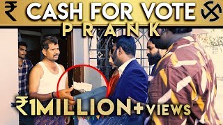 Cash for Vote Prank | Vada With Sarithiran