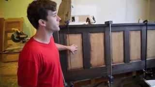 Furniture Design From Hurricane Katrina Reclaimed Wood