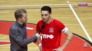 Суперлига. 8-й тур. КПРФ (Москва) – «Газпром-ЮГРА» (Югорск). 2 матч