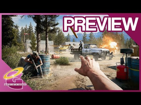 Far Cry 5 preview | PS4 Pro gameplay
