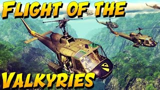 FLIGHT OF THE VALKYRIES!  (Heliborne Gameplay and Epic Moments)