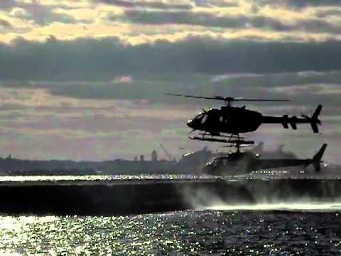 Helicopters At Wall Street Heliport