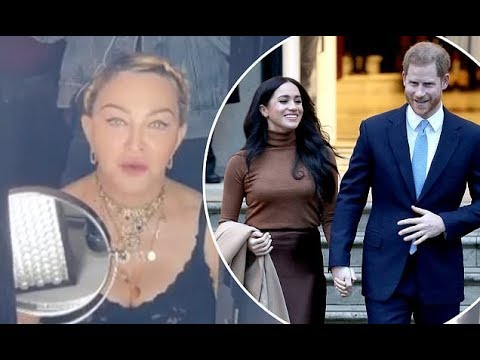 Madonna insists Prince Harry andMeghan Markle relocate to her Central Park apartment in NYC as it h