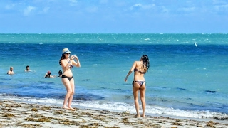 MIAMI Key Biscayne Beach Florida USA October 2016