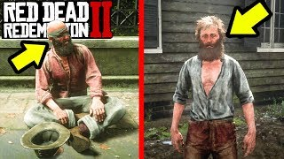 THIS BLIND BEGGER IS A SCAM ARTIST in Red Dead Redemption 2! RDR2 Secrets, Easter Eggs and Guides!
