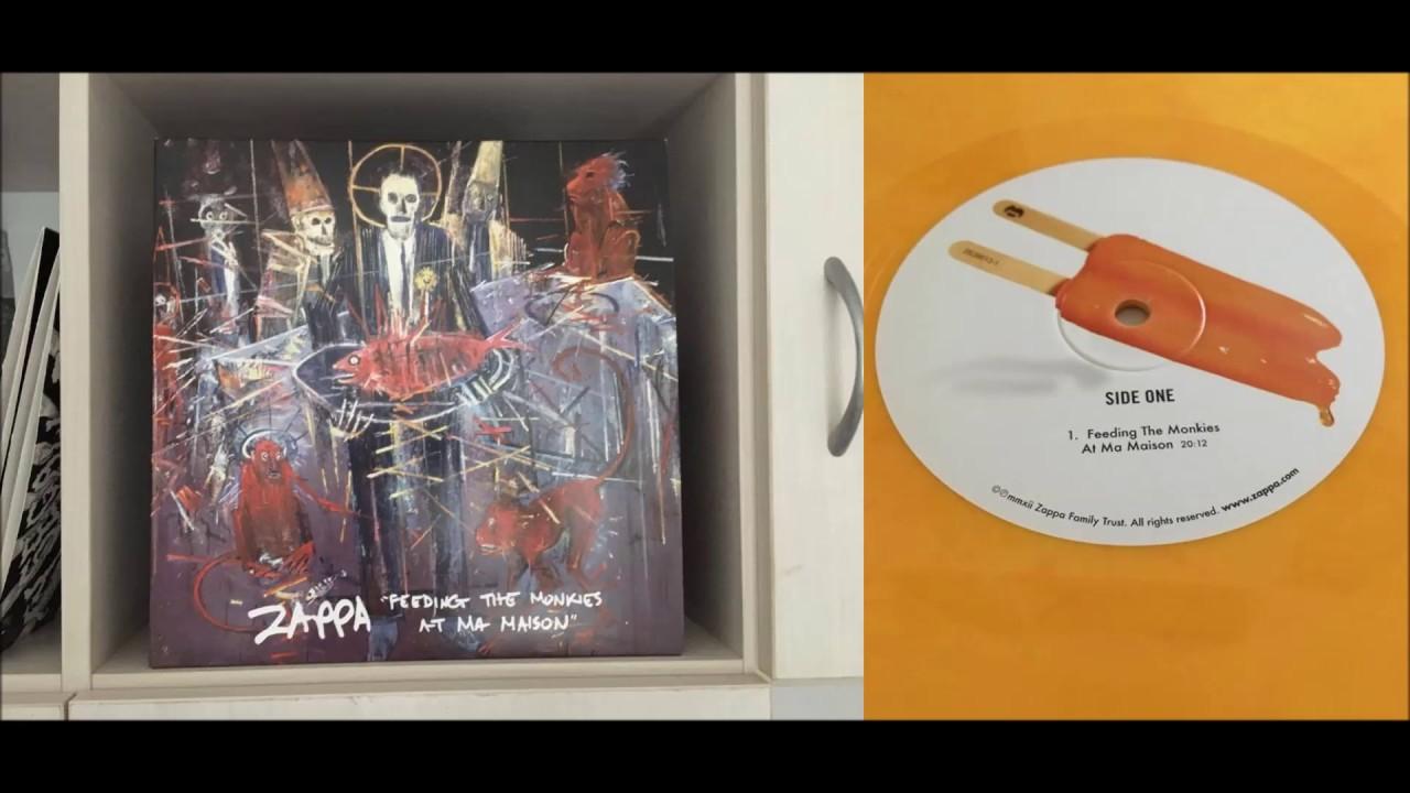 Extrêmement Frank Zappa - Feeding The Monkies at Ma Maison (Full Album, VINYL  KL22