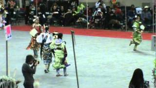 Denver March Pow Wow 2011 Teen Girls Jingle Contest Song 1