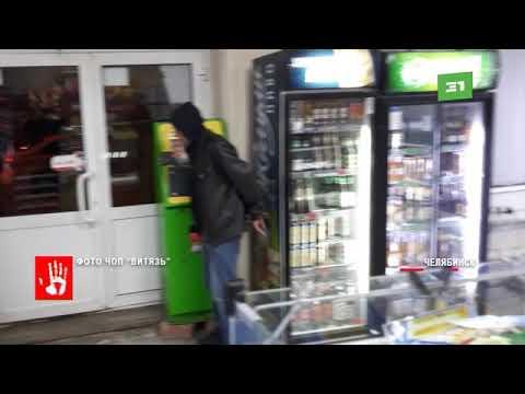 Пьяный мужчина устроил погром в круглосуточном магазине