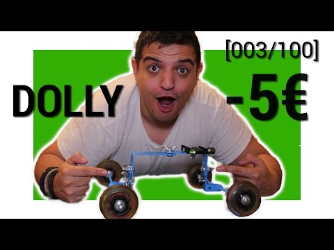 TUTO /  DIY : DOLLY / SLIDER -5€ |003/100]