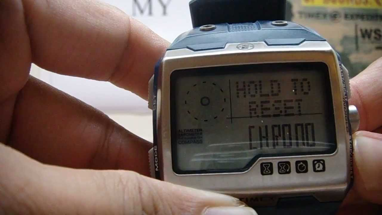 how to remove battery from timex expedition watch