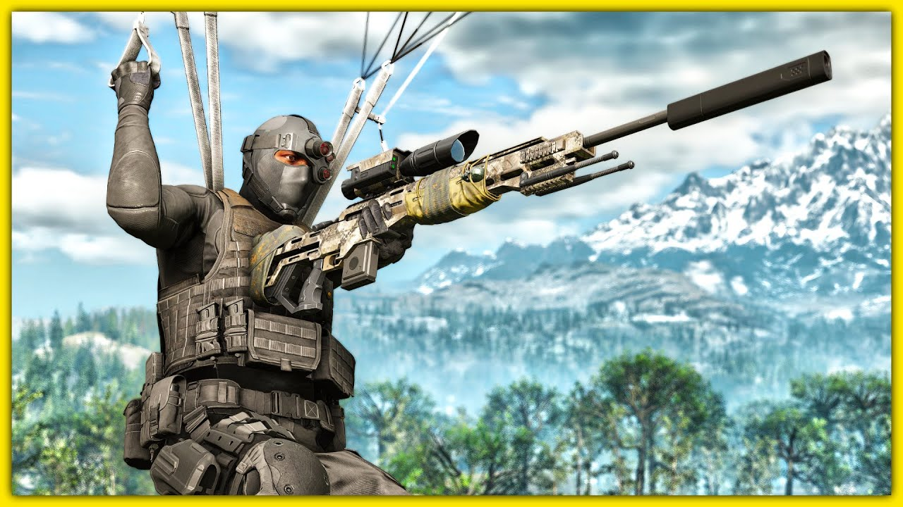 INCREDIBLE NEW FUTURISTIC SNIPER RIFLE in Ghost Recon Breakpoint Free Roam thumbnail