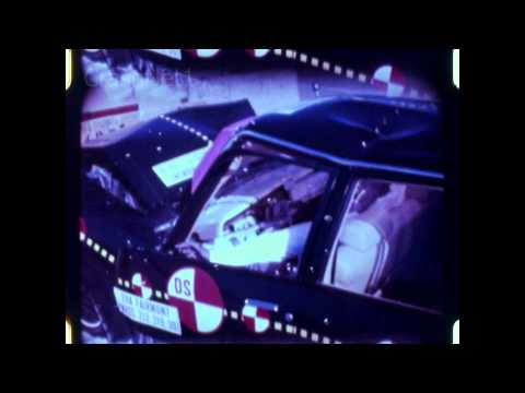 EVA Ford Fairmont Electric | 1980 | Frontal Crash Test by NHTSA | CrashNet1