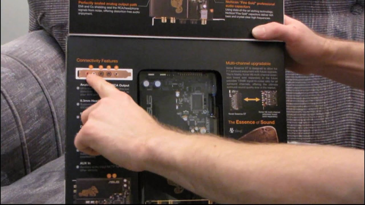 ASUS Xonar Essence ST Audiophile Stereo PCI Sound Card Unboxing & First Look Linus Tech Tips ...