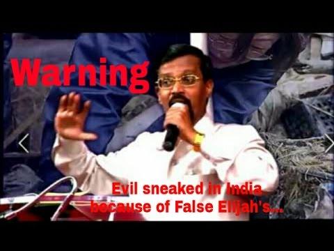 Beware! Prophecy about Pastors/Ministries - Bro. Vincent Selvakumar