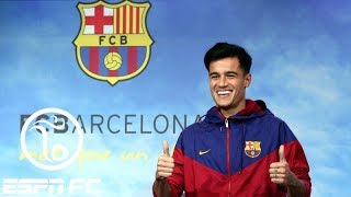 Barcelona signs Coutinho from Liverpool | ESPN FC