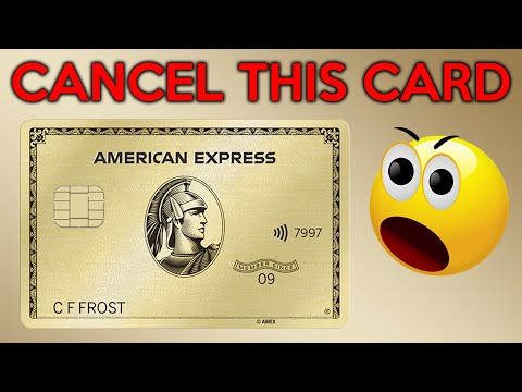 Cancel The AmEx Gold Card?