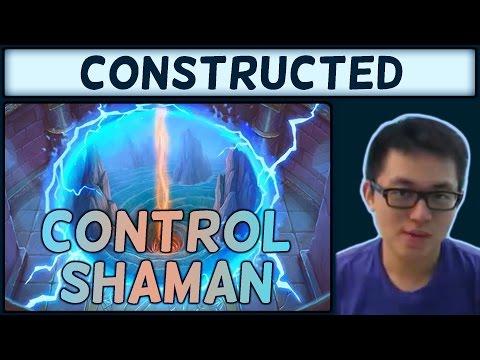 [Hearthstone] One Night in Karazhan Control Shaman #2: Trump Card