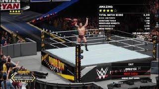 WWE 2K18 Daniel Bryan Vs Roman Reigns Universal Championship