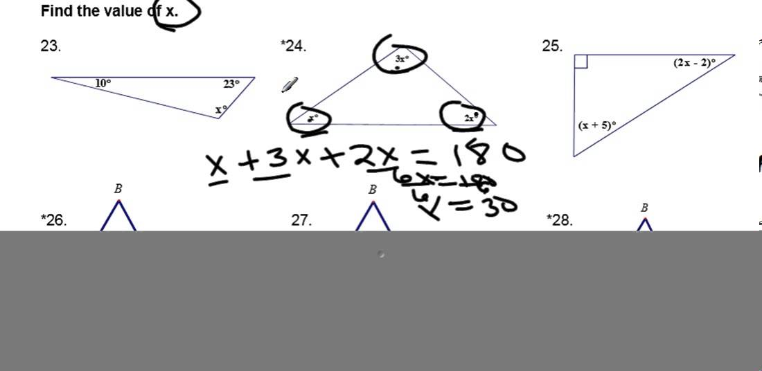 WORKSHEET SOLUTIONS Triangle Properties and Classifying triangles – Classifying Triangles Worksheet