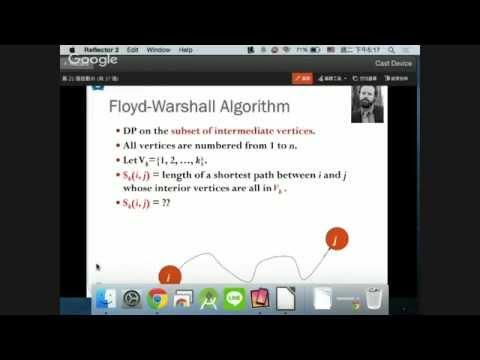 20151006 Computer Algorithms-Shortest Path Problems #6