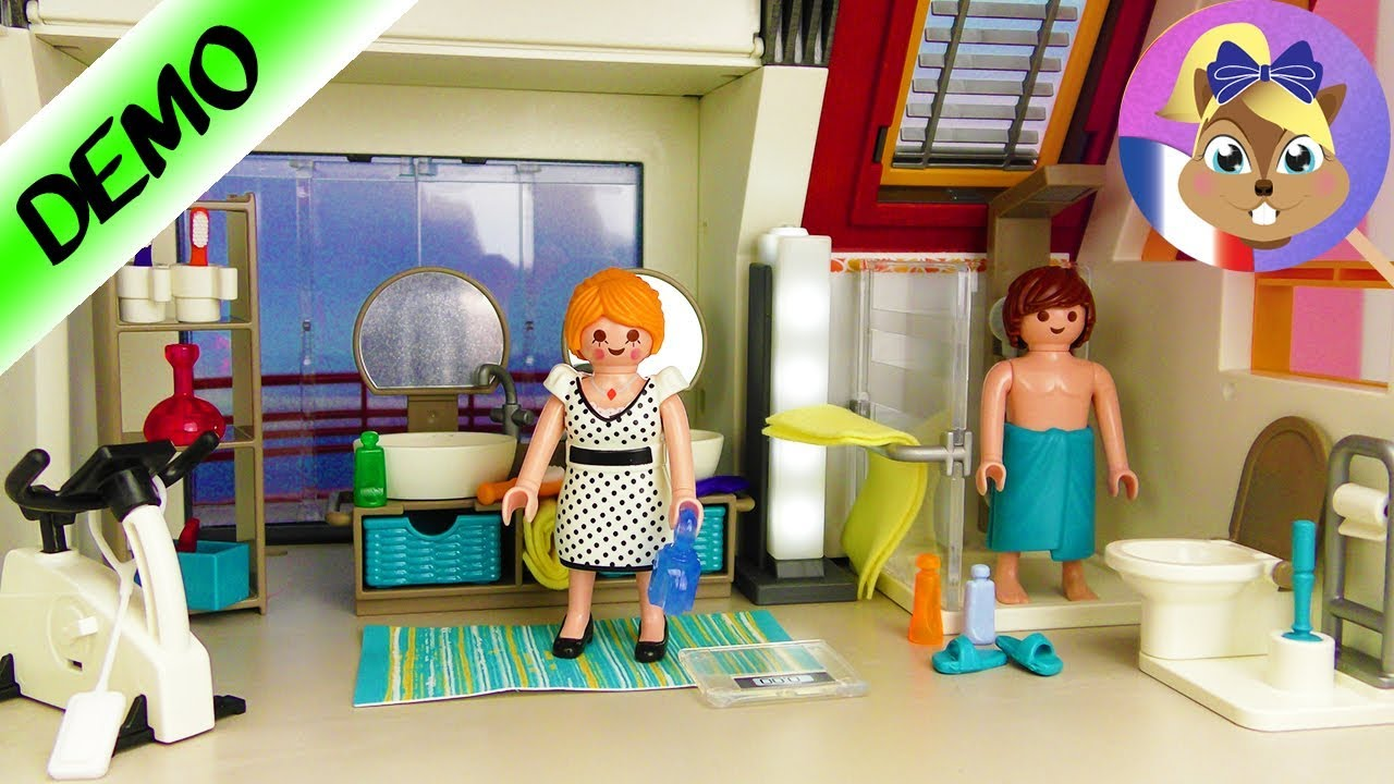 Salle de bain playmobil city life pour maison moderne for Prix salle de bain playmobil