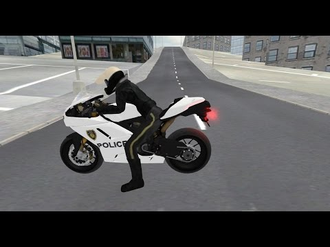 Police Motorbike Simulator 3D - Android Gameplay HD